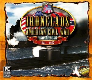 Ironclads American Civil War PC Strategy Game XP Vista Windows 7 New