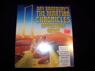 Mac Ray Bradbury's Martian Chronicles Adventure Game SEALED Macintosh