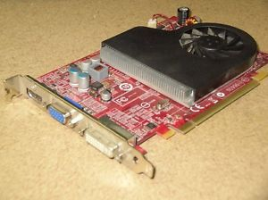 HP 517518 001 505118 001 ATI Radeon HD 4650 512MB PCI E Video Card DVI VGA HDMI