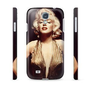 Marilyn Monroe in Gold Hard Cover Case for iPhone Android 65 Other Phones