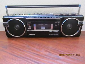 Vintage Sanyo Stereo Radio Cassette Boombox M7770K