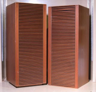 Vintage Grundig 525 Speakers Hi Fi Loudspeakers Mid Century Modern Germany