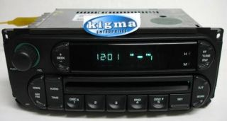 Dodge RAM 02 05 Dakota 02 04 Caravan 02 07 CD Player Digital Audio RBK 1481CNSF