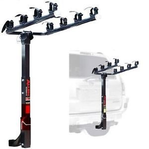 "Allen Sports Deluxe 4 Bike Hitch Mount Car Truck Rack Bicycle Carrier 2"" Hitch"