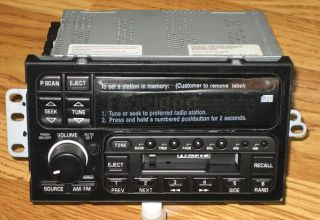 New Replacement 1995 2001 Buick Park Ave Avenue CD Cassette Radio
