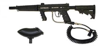 Tippmann 98 PS Custom Act Paintball Gun Flatline Stock Double Trigger Remote