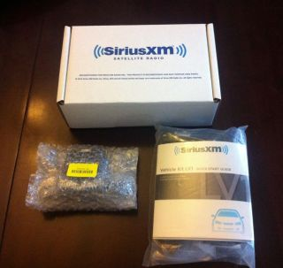 Sirius XM Lynx LV1 Car Vehicle Kit SEALED Reconditioned