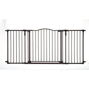 Baby Pet Metal Security Extra Wide Gate Safety Proofing Decorative Child Proof