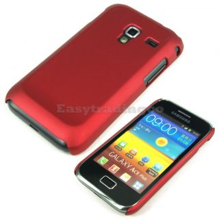 Hard Back Cover Case Samsung Galaxy Ace Plus S7500 Red