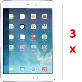 3X Crystal Clear HD LCD Screen Protector Cover Film for Apple iPad Air 5