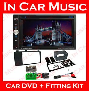 Volvo V70 S60 XC70 Double DIN Car DVD Stereo USB Bluetooth Radio Headunit Kit