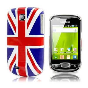 Union Jack Back Case Cover for Samsung Galaxy Mini S5570 Screen Protector
