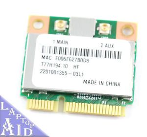 Acer Aspire One 725 Wireless Card WiFi Network T77H194 10 Genuine Laptop Tested