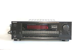 Sony Str D711 Dolby Digital Pro Logic Audio Video 5 1 Stereo Surround Receiver