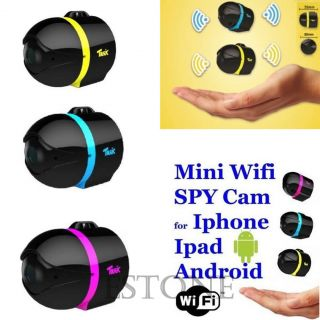 Mini WiFi Remote Cam IP Wireless Spy Surveillance Camera for iPhone Android