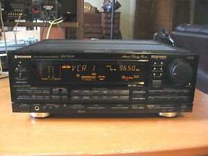 Pioneer VSX 9700s Audio Video Stereo Receiver w Remote Manual Excelent