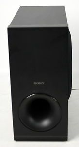 Sony Speaker System Home Theater Surround Sound Model SS WS121 Subwoofer