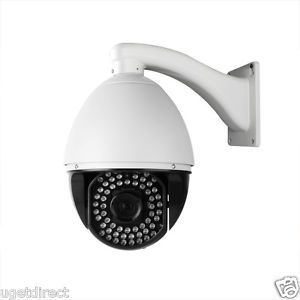 ZMODO 22x Outdoor Dome Pan Tilt Zoom Security Surveillance PTZ Camera Sony CCD