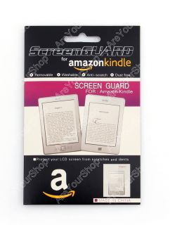 New 5pcs Matte Screen Protector Guard Film  Kindle Touch 4 Paperwhite