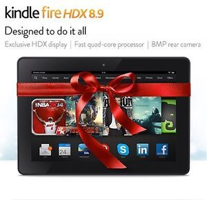 Kindle Fire HDX 16GB, Wi Fi, 8.9in   Black Latest Model