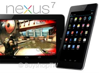 Asus Google Nexus 7 16GB Wi Fi 7in Android Jelly Bean Quad Core Black New