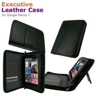 rooCASE Executive Leather Case Cover for Google Nexus 7 Tablet
