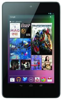 "Asus 7"" Google Nexus Android 4 1 Jelly Bean Quad Core 16GB Tablet w Webcam BT"
