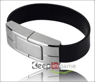 8GB 8 GB Leather Bracelet USB Flash Memory Stick Drive
