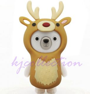 Pretec 8GB 8g Kappi Polar Bear to Deer USB Flash Drive Memory Disk Figure Cute