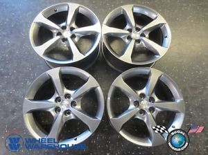 "Four 10 13 Chevy Camaro Factory 20"" Wheels Rims 5576 5580 Silver"