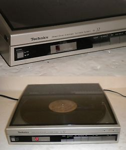 Technics SL J2 Direct Drive Linear Tracking Turntable Audio Technica Cartridge