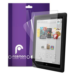 3X Fosmon 3 Pack Anti Glare Screen Protector Guard for Barnes Noble Nook HD