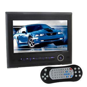 HD 9 inch Digital LCD Screen in Car Headrest Monitor Video DVD SD USB Player