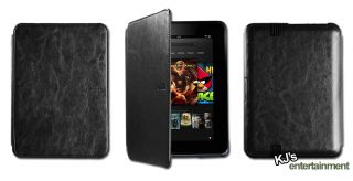 Ultra Slim Smart Stand Leather Case Cover for New  Kindle Fire HD