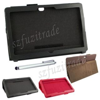 Multicolor Folio Stand Leather Case Cover Pouch for Microsoft Surface Pro 10 6""