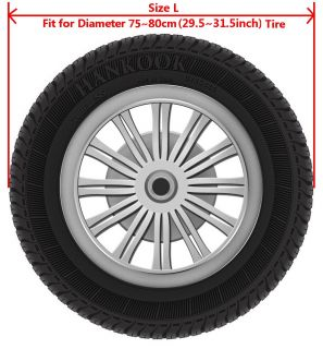 "Jeep Wrangler Liberty Off Road Vehicle SUV Spare Wheel Tire Tyre Cover 29""30""31"""