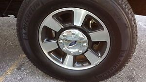 "New Ford F250 F350 Super Duty 18"" Factory Wheels Rims Michelin Tires 2005 14"