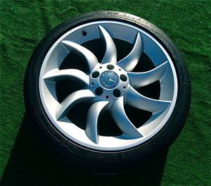 Perfect Genuine AMG Mercedes Benz McLaren SLR Wheels New Michelin Tires TPMS