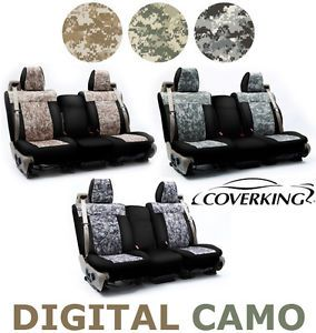 about Coverking Digital Camo Custom Seat Covers for Dodge Nitro