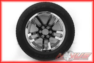 "New 20"" Nissan Titan Armada Infiniti QX56 Chrome Wheels Goodyear Tires 18 22"