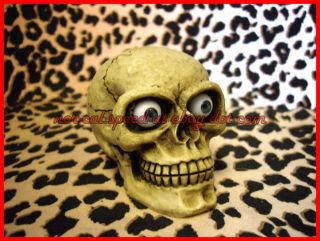 Punk Hot Rod Rat Car Scary Eye Skull Shift Knob Shifter Universal Lever Handle