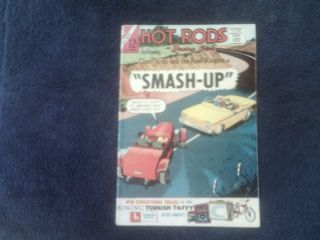 Hot Rods and Racing Cars 65 A 12C Comic Book 1963