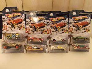 2013 Hot Wheels Holiday Hot Rods Complete Set of 8