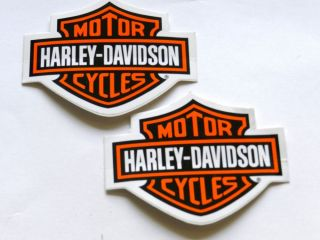 2 Harley Davidson Racing Decals NHRA Off Road NASCAR Hot Rods Drags AMA NMRA