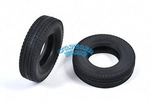 Tamiya 19805456 RC King Hauler Tractor Truck Tires 2pcs for 56301 TAM19805456