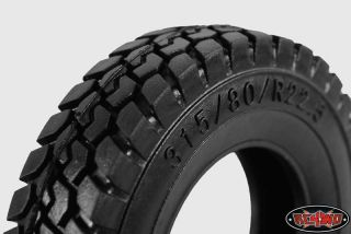 "King of The Road 1 7"" 1 14 Semi Truck Tires"