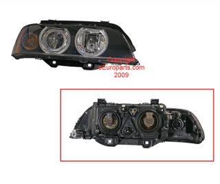 New Hella Headlight Assembly Passenger Side H11053021 BMW OE 63126902518