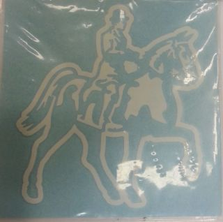 Car Window Decals Horse Lover Rodeo Riding Decal Window Stickers Cars Trucks