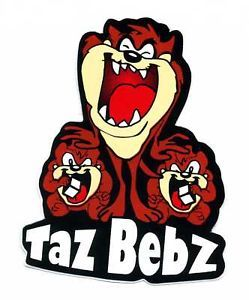 Taz Tasmanian Devil Baby Boy Girl Car Motorcycle RARE Truck Decals Sticker U59