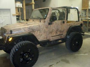 Camoskinz Camo Vinyl Wrap Jeep CJ Kit Mossy Oak Realtree Advantage More